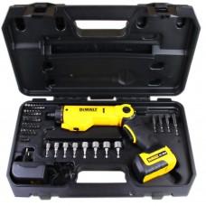 Parafusadeira a bateria bivolt com 45 Acessórios DCF060 – Dewalt