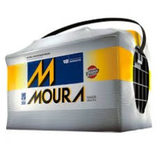 Bateria Automotiva MOURA 80ah M80 RD/90RE