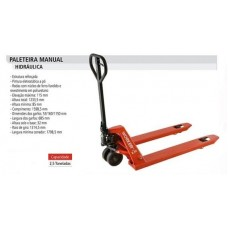 Paleteira Manual 2 Toneladas Worker 377210