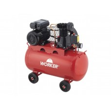 Compressor de Ar 2 hp 100L – 120 psi Worker 392960